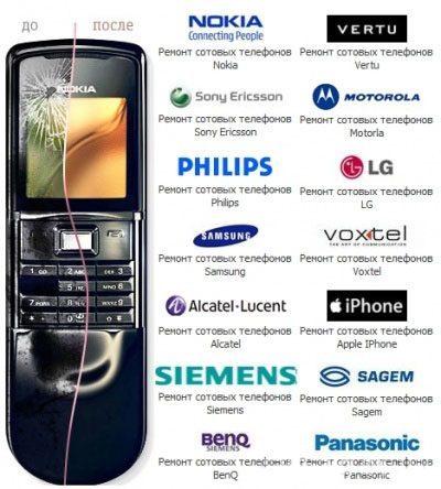 Ремонт мобильных телефонов в Иркутске